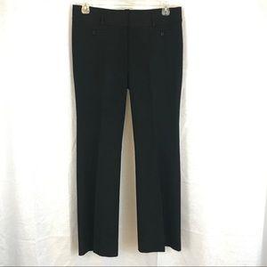 LOFT Black Marissa Trousers 10 TALL